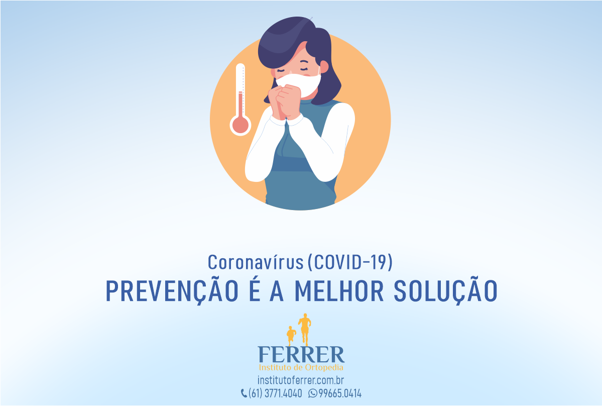 Como prevenir o Coronavírus (COVID-19)
